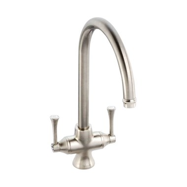 Abode Gosford Aquifier Filtered Water Mono Kitchen Mixer - Brushed Nickel