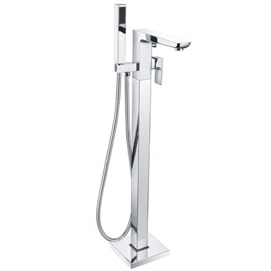 Harbour Status Chrome Floorstanding Bath Shower Mixer Tap