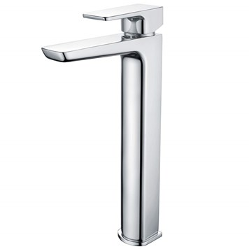Harbour Status Chrome Tall Basin Mixer Tap