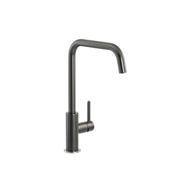 Abode Althia Single Lever Mono Kitchen Mixer - Graphite