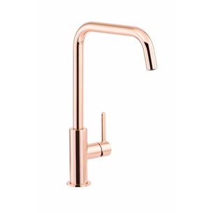 Abode Althia Single Lever Mono Kitchen Mixer - Rose Gold