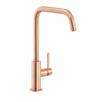 Abode Althia Single Lever Mono Kitchen Mixer - Urban Copper
