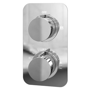 Moderno Thermostatic Single Function Concealed Shower Valve