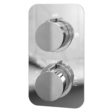 Vellamo Moderno Thermostatic Single Function Concealed Shower Valve