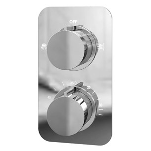 Moderno Thermostatic Dual Function Concealed Shower Valve