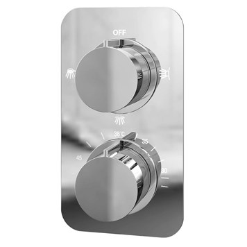 Moderno Thermostatic Triple Function Concealed Shower Valve