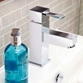 Vado Té Mono Basin Mixer with Clicker Waste