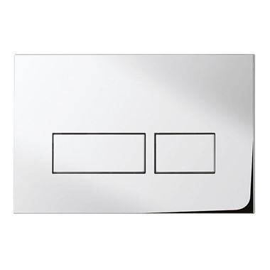 Bauhaus Tempo Chrome Flush Plate