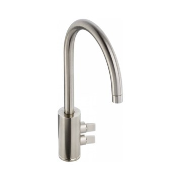 Abode Fliq Mono Kitchen Tap - Brushed Nickel