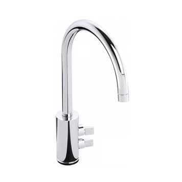 Abode Fliq Mono Kitchen Tap - Chrome