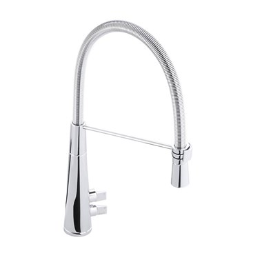 Abode Fliq Professional Mono Pull Out Kitchen Tap - Chrome