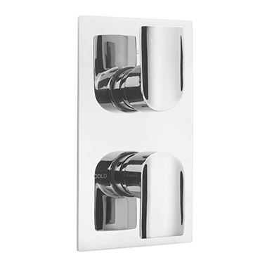 Sagittarius Tivoli Thermo Conc Shower 2 Way Diverter Chrome