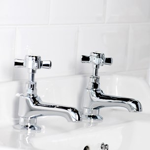 Butler & Rose Loretta Traditional Basin Pillar Taps