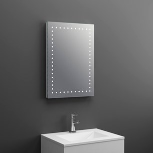 Drench LED Spot Bathroom Mirror - 700 x 500mm