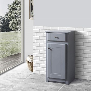 Butler & Rose Catherine Floorstanding Side Storage Unit - Matt Grey