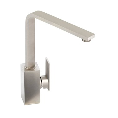 Abode New Media Single Lever Mono Kitchen Mixer - Brushed Nickel