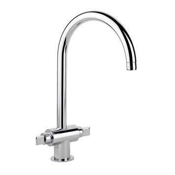 Rangemaster Monoglide Designer Mono Kitchen Mixer - Polished Chrome