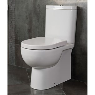 RAK Tonique Fully Back to Wall Close Coupled Toilet & Soft Close Seat