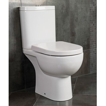 RAK Tonique Close Coupled Toilet & Soft Close Seat