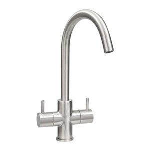 Astracast Shannon Monobloc Kitchen Sink Mixer Tap - Brushed Chrome