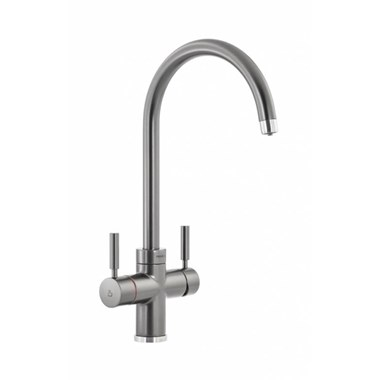 Abode Pronteau Prostream 3 in 1 Instant Hot Water Tap - Graphite