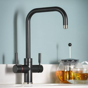Abode Pronteau Prostyle 3 in 1 Instant Hot Water Tap - Matt Black