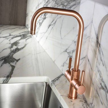 Abode Pronteau Prostyle 3 in 1 Instant Hot Water Tap - Urban Copper
