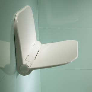 Roper Rhodes Wall Mounted Shower Seat