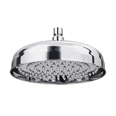 "Butler & Rose Elizabeth 8"" Traditional Shower Head (210mm) with Swivel Joint"