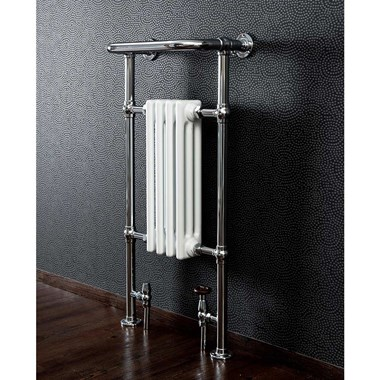 Butler & Rose Elizabeth Traditional Bathroom Heated Towel Rail Radiator