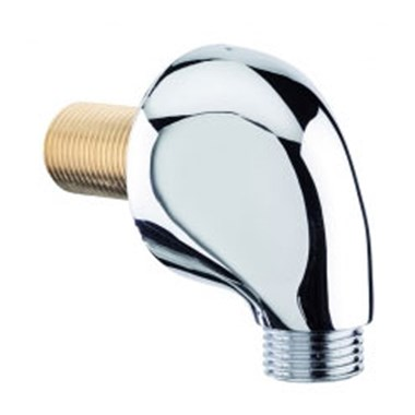 Tre Mercati Teardrop ABS Wall Outlet - Chrome