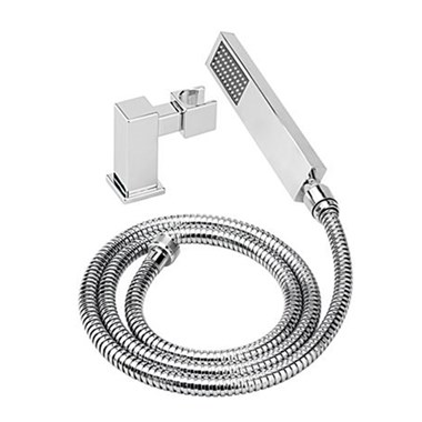Tre Mercati Turn Me On Mini Square Shower Kit - Chrome