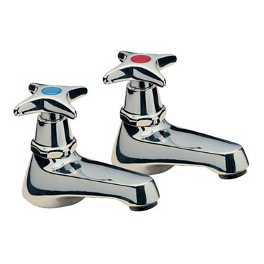 Tre Mercati Capri Crosshead Basin Taps (Pair)
