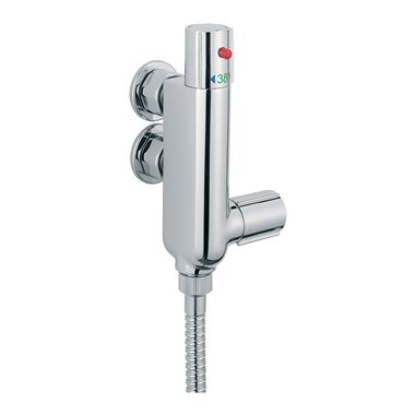 Tre Mercati Vertical Exposed Vertical Thermostatic Shower Valve