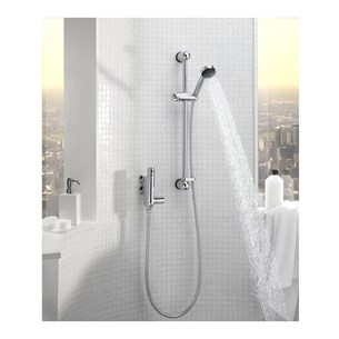 Tre Mercati Vertical Exposed Thermostatic Shower Valve With Rainbow No2 Kit
