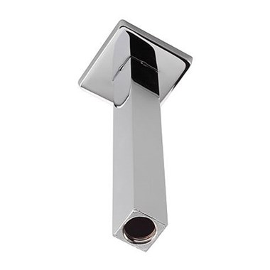 Tre Mercati Square Ceiling Fed Shower Arm - Chrome