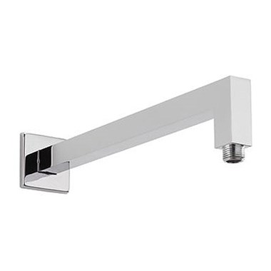 Tre Mercati Denzil Square 350mm Shower Arm - Chrome