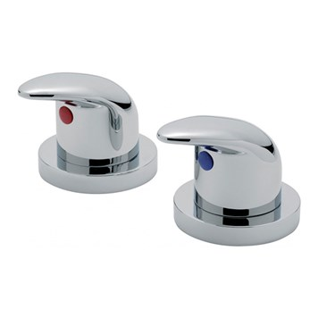 "Tre Mercati Novara Deck Mounted Side Valves 3/4"" (Pair)"