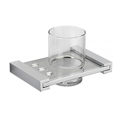 Tre Mercati Turn Me On Wall Mounted Glass Holder