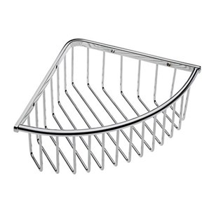 Tre Mercati Wall Mounted Deep Triangular Corner Basket