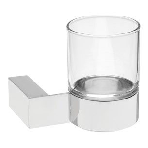 Tre Mercati Edge Wall Mounted Glass Holder