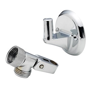Tre Mercati Pin Wall Bracket & Swivel Knuckle - Chrome