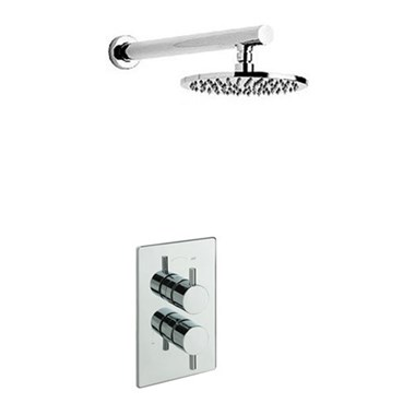Tre Mercati Bella Concealed 1 Outlet Thermostatic Shower Valve Kit 1