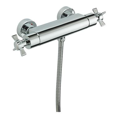 Tre Mercati Traditional Exposed Thermostatic Bar Shower Valve