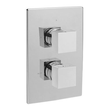 Tre Mercati Vespa Concealed 1 Outlet Thermostatic Shower Valve
