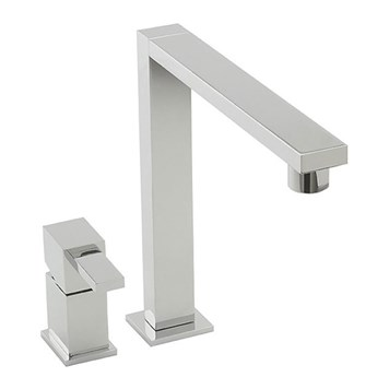 Tre Mercati Edge 2 Hole Sink Mixer Tap - Chrome