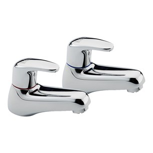 Tre Mercati Modena Bath Taps (Pair) - Chrome