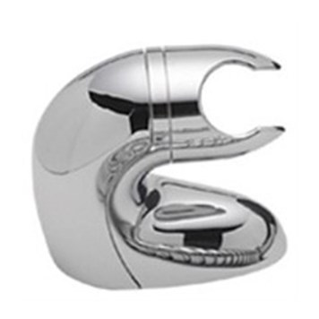 Tre Mercati Modena Curved Wall Bracket - Chrome
