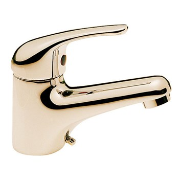Tre Mercati Modena Mono Basin Mixer - Antique Gold