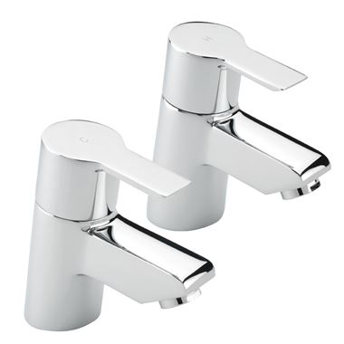 Tre Mercati Angle Bath Taps (Pair)